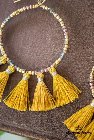 **DAILY STEAL!** Fan Of Mine Tassel Earrings
