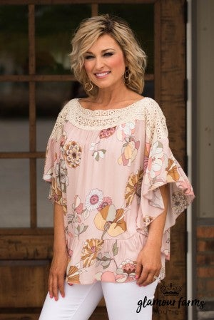 Air Of Romance Poncho Top