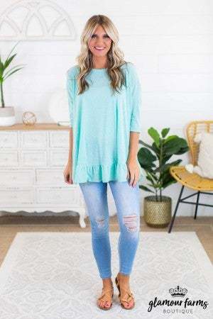 sku12166 | **Daily Deal** Ruffled Tunic