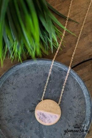 **DAILY STEAL** Class Act Circle Necklace