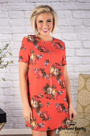 Loves Abloom Floral Tunic/Dress
