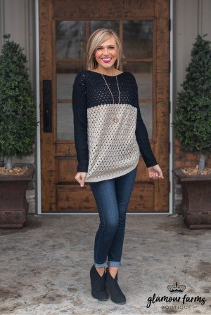 **Daily Deal** Sloan Color Block Sweater