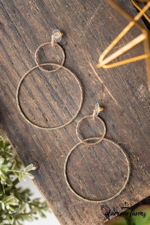 **Daily Deal** Spin Story Earrings