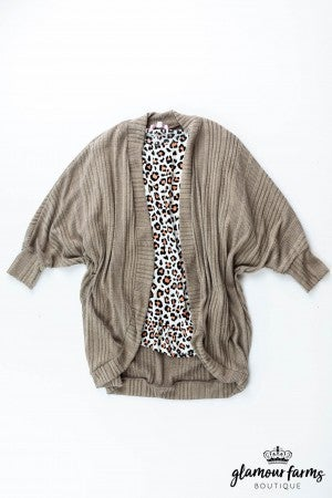 sku13334 | **Daily Deal** Ribbed Knit Cardigan