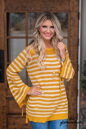 Tied And True Stripe Tunic