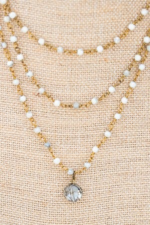 Donna's Vintage Layered Necklace
