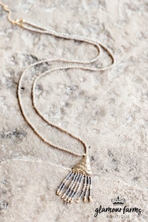 Jules Tassel Necklace