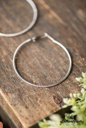 **Daily Deal** Chic Choice Hoop Earring