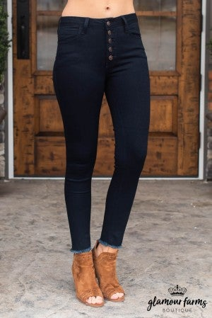 Kennedy Button Skinny Jean