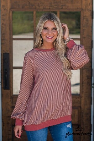 Something Simple Stripe Tunic