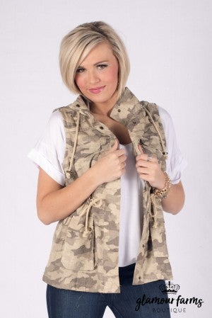 At Ease Hooded Vest