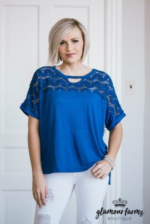 Adore Me Lace Top