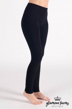 Curvy| Ahh-mazing Tummy Tuck Ankle Legging