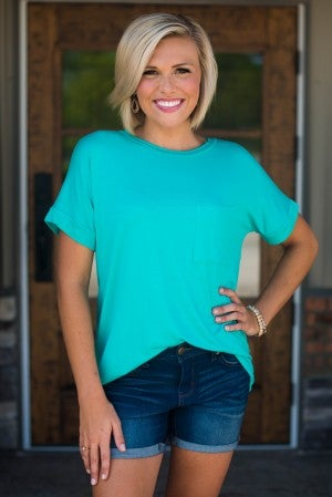 **Daily Deal** Sydney Relaxed Fit Pocket Tee