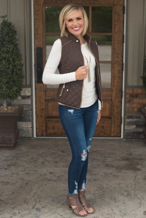 Mollie's Perfect Quilted Vest