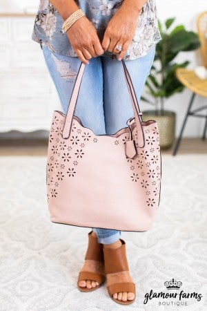 sku12110 | Perforated 2-In-1 Tote Bag