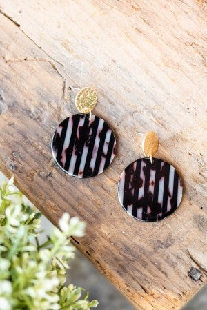 **Daily Deal** Greatest Ever Stripe Earring