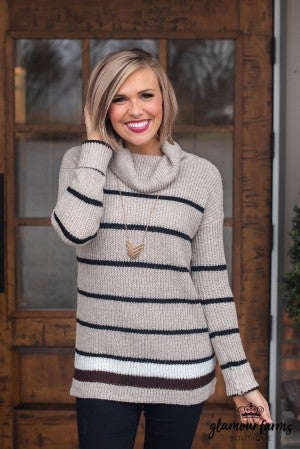 Great Escape Turtleneck Sweater