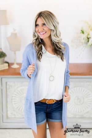 Tropical Seas Lightweight Cardigan