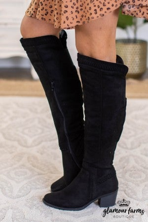 sku11013 | Ladder Knee High Boot