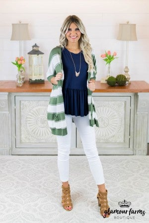 Go Bold Button Up Cardigan