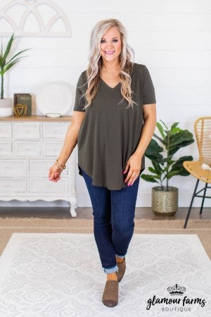 sku9017 | **Daily Deal** Premium V-Neck Tee