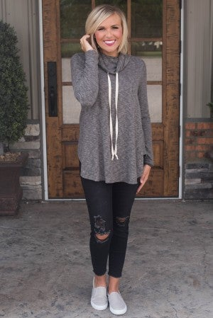 Lounge Day Drawstring Pullover