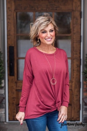 **Daily Deal** Holiday Twist Top