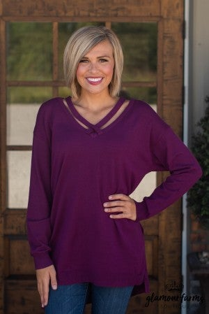 Leave In Style Tunic Sweater