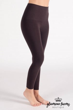 Curvy| Ahh-mazing Tummy Tuck Crop Legging