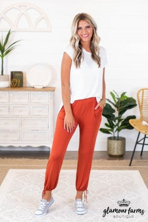 sku8859 | **Daily Deal** Ankle Tie Lounge Pants