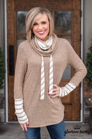 **Daily Deal** Preppy Days Layered Look Top