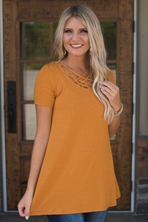 **Daily Deal** All The Love Lattice Tunic