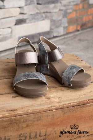 Bandit Wedge Sandal