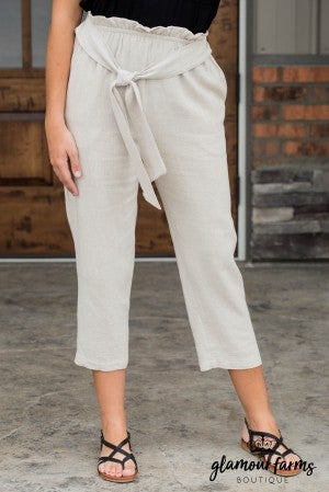 Keep It Casual Crop Pants