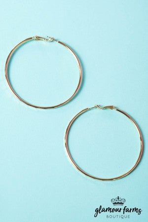 Josie Hoop Earrings