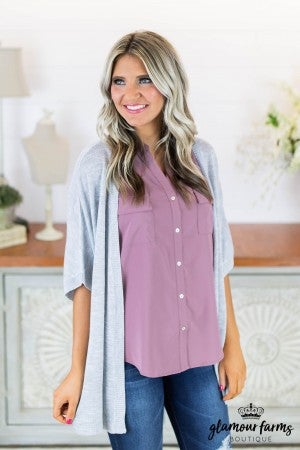 Spring Essential Lightweight Cardigan