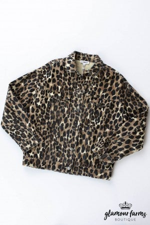 sku12422 | Animal Print Jacket