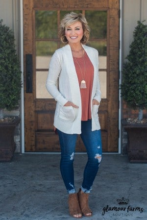 **Daily Deal** Fit For Fall Pocket Cardigan