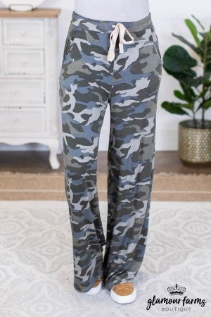 sku9530 | **Daily Deal** Camo Drawstring Pants