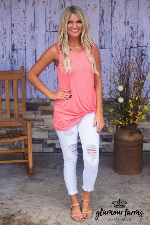 **Daily Deal** All The Dots Knot Top