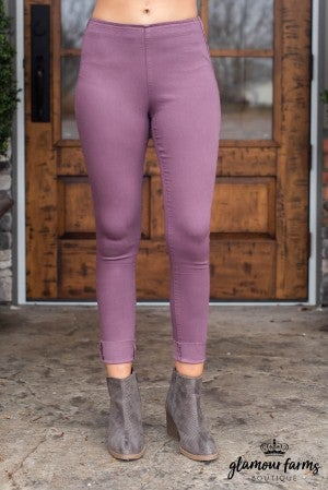 Long And Lean Washed Jegging