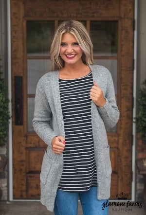 Warm Fuzzy Feelings Cardigan