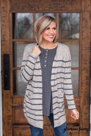 Cocoa Kind Of Day Cardigan