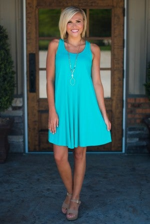 **Daily Deal** Begin Again Relaxed Tank Dress