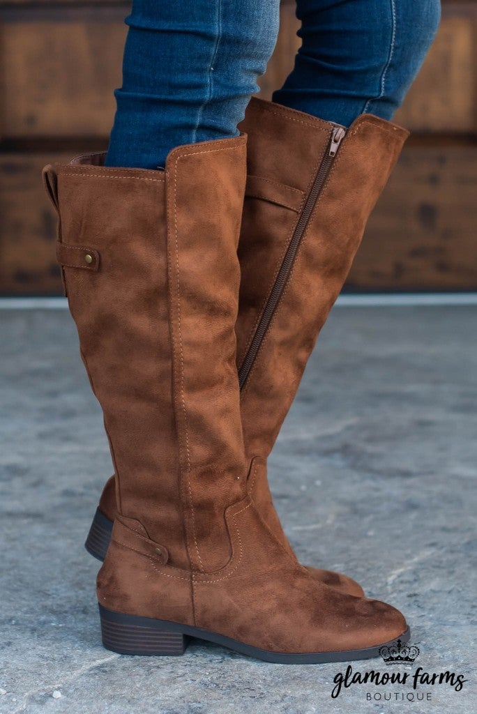 Balloon Strappy Riding Boot