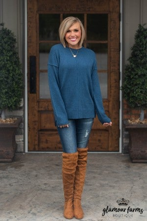 Chilly Nights Tunic Sweater