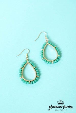 Nina Teardrop Earrings