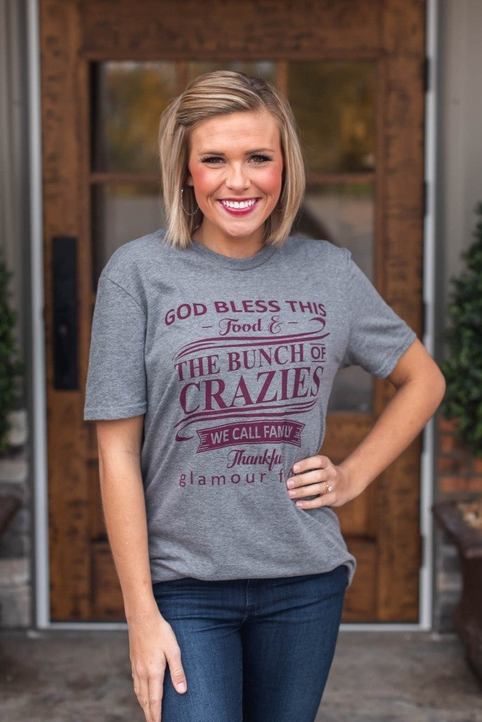 **Doorbuster** God Bless This Family Tee