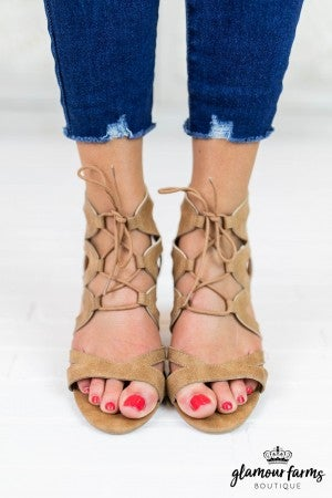Coly Cut Out Strappy Heel